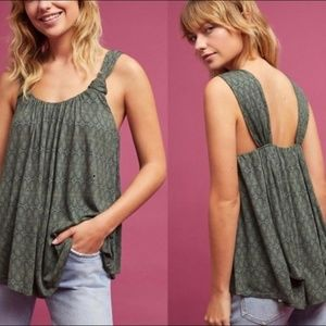 VANESSA VIRGINIA Flowy Double Layer Tank Small